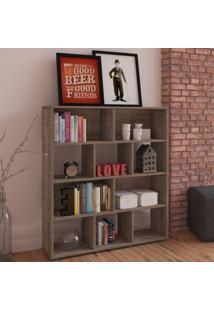 Estante Para Livros Book Canela - Artely