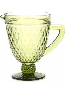 Jarra Le Greek Vidro Verde 1,2L