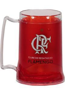 Caneca Gel Flamengo Zico 400Ml - Unissex