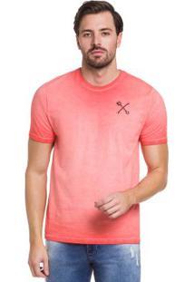 Camiseta Vermelho Hangar