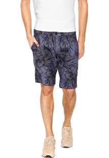 Bermuda Jeans Calvin Klein Jeans Chino Tropical Azul