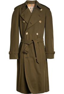 Burberry Trench Coat The Westminster Heritage - Verde
