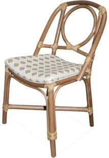 Cadeira Reno Estrutura Madeira Apui Com Assento Sarja Sextavada - 44716 - Sun House