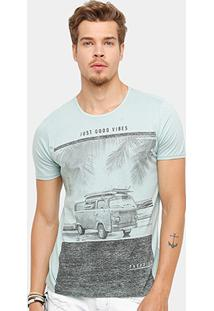 Camiseta Kohmar Just Good Vibes Masculina - Masculino