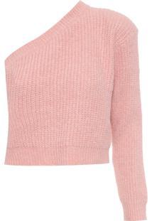 Blusa Feminina De Tricot Osaka - Rosa