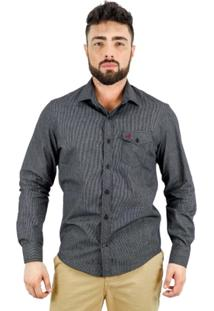 Camisa Norfolk Com Bolso - Masculino