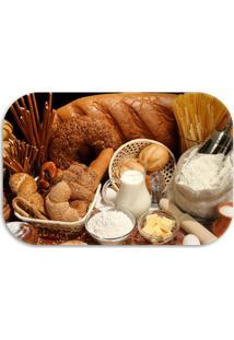 Tapete Decorativo Lar Doce Lar Decor Breads 40Cm X 60Cm Marrom