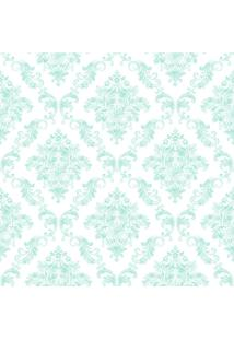 Papel De Parede Lyam Decor Damask Verde