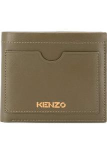 Kenzo Carteira Cadet Pequena - Verde