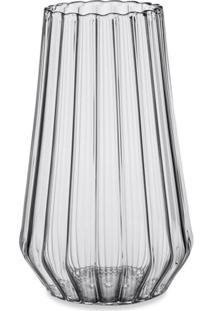 Fferrone Design Vaso De Vidro Stella Grande - Neutro