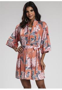Robe Recco De Super Micro Rosa