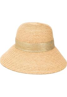 Oseree Capri Raffia Hat - Neutro