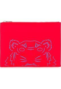 Kenzo Clutch Tiger - Vermelho