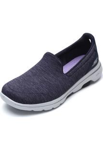 Slipper Skechers Go Walk 5-Honor Azul-Marinho
