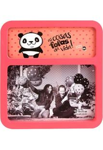 Porta Retrato Uatt Pop Panda Rosa