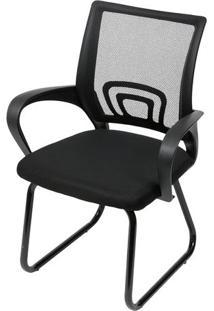 Cadeira De Escritório Tok- Preta- 93X59X50Cm- Oror Design