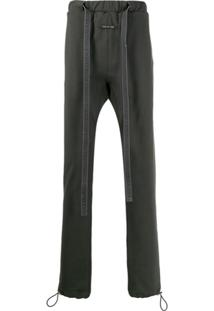 Fear Of God Drawstring Waist Trousers - Cinza