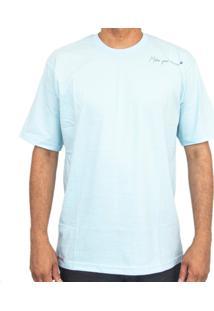Camiseta Make Shoulder Azul