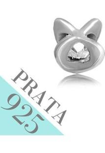 Pingente Prata 925 Triangulo Espacador Memories - Feminino-Prata