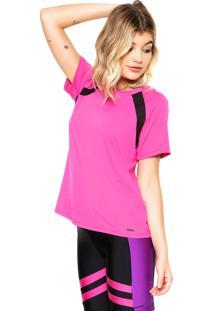 Camiseta Memo Recortes Rosa