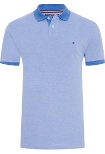 Polo Masculina Ec Essential Oxford - Azul Claro