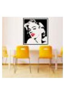 Adesivo De Parede Quadro Marilyn Monroe - Extra Grande