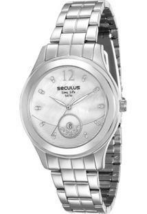Relógio Feminino Seculus Analógico Fashion - Unissex