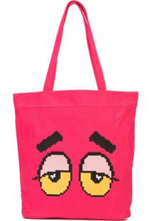 Mostly Heard Rarely Seen 8-Bit Bolsa Tote Drowsy - Rosa