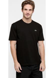 Camiseta Lacoste Gola Careca - Masculino