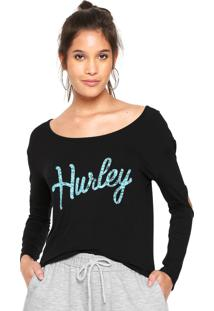 50e62dc5d3 Blusa Hurley feminina