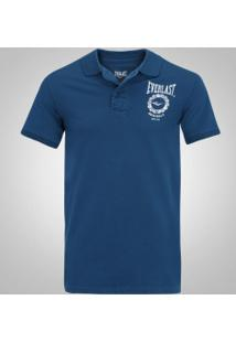 Camisa Polo Everlast El20003 - Masculina - Azul