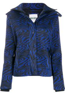 Kenzo Zip-Front Jacket - Azul