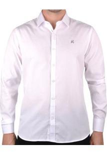 Camisa Hurley Hny Masculina - Masculino-Branco