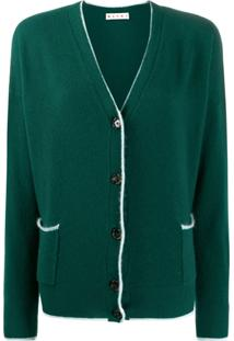 Marni Knitted Cardigan - Verde