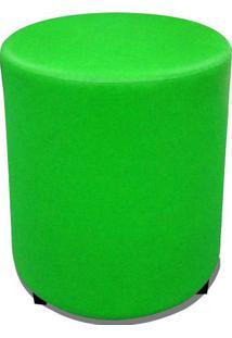 Puff Round Madeira Corano Verde - Markine Mobilier