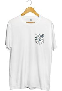 Camiseta Bsc Full Diamonds Pocket Full Print - Masculino