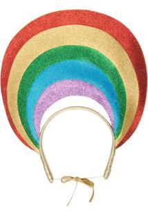 Tiara Rainbow Aroeira Abe - Dourado