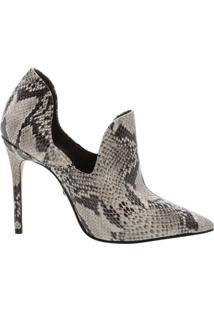 Ankle Boot Cut Out Snake | Schutz