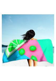 Toalha De Praia / Banho Hot Sunny Vibes Único