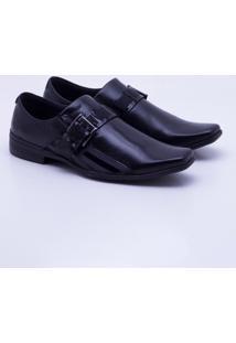Sapato Social Ferracini Frankfurt Masculino - Masculino-Preto