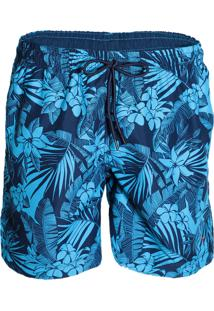 Shorts Floral Masculino Yachtmaster