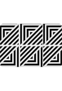 Tapete Love Decor De Sala Wevans Abstract Branco E Preto