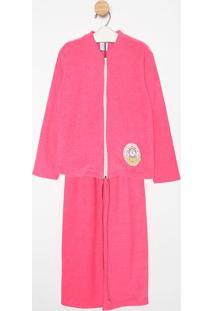 Pijama Manga Longa & Calã§A- Pinksonhart