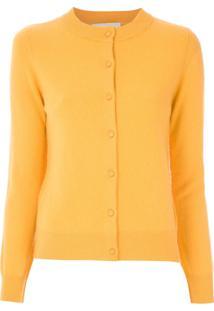 Egrey Cardigan De Lã - Amarelo