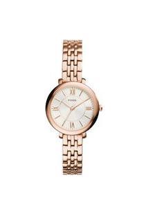 Relógio Fossil Feminino Jacqueline Mini Roxo Es3799/1Jn Es3799/1Jn