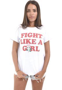 Camiseta Korova Girl Power Fight Like