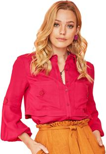 Camisa Garnus Dupla Pink
