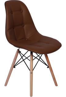 Cadeira Impã©Rio Brazil Boton㪠- Incolor/Marrom - Dafiti