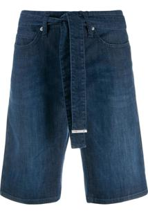 Cambio Bermuda Jeans - Azul