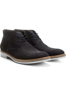 Sapato Casual Couro Reserva Lipe Masculino - Masculino-Marinho